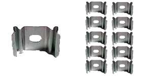 Aleph 1 Clip Mount: Box of 10